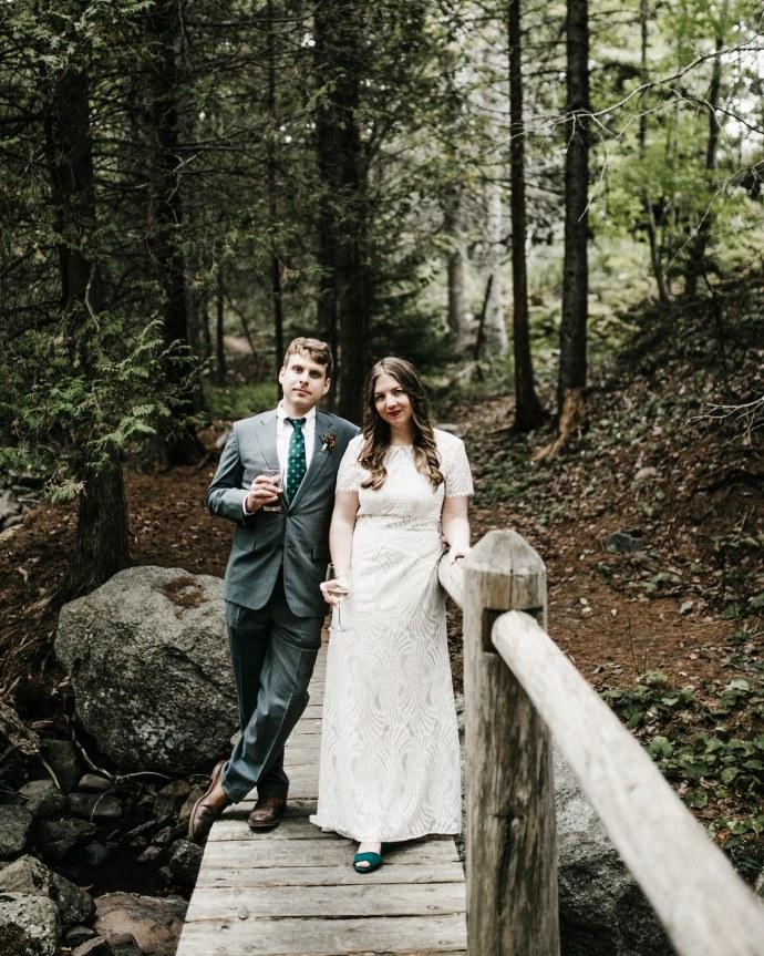 Acadia national park wedding