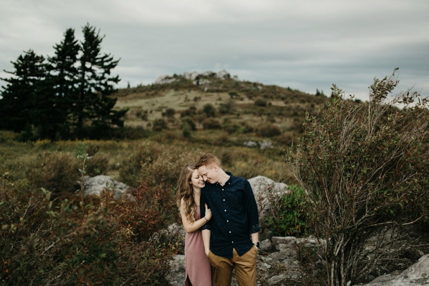 Virginia mountains engagement