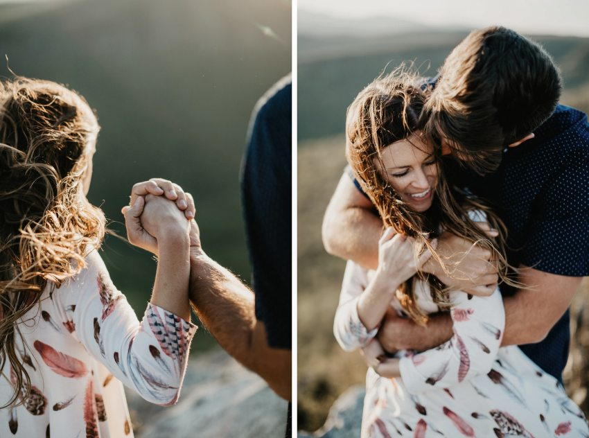 hawksbill mountain engagement linville nc