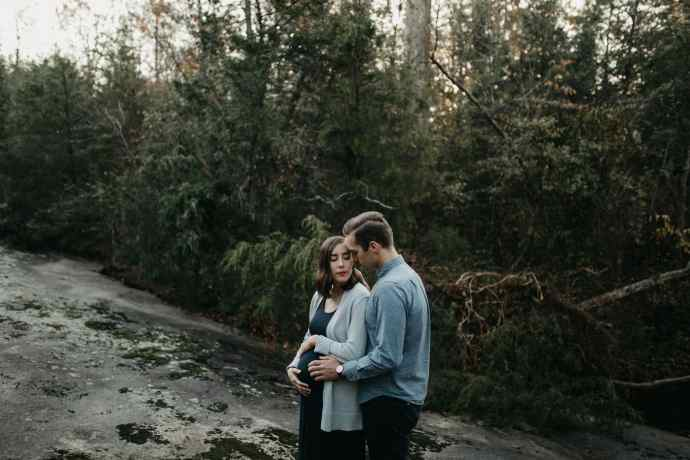 Raleigh maternity session