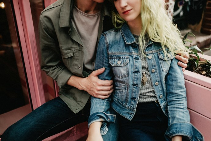 nolita hipster couples session