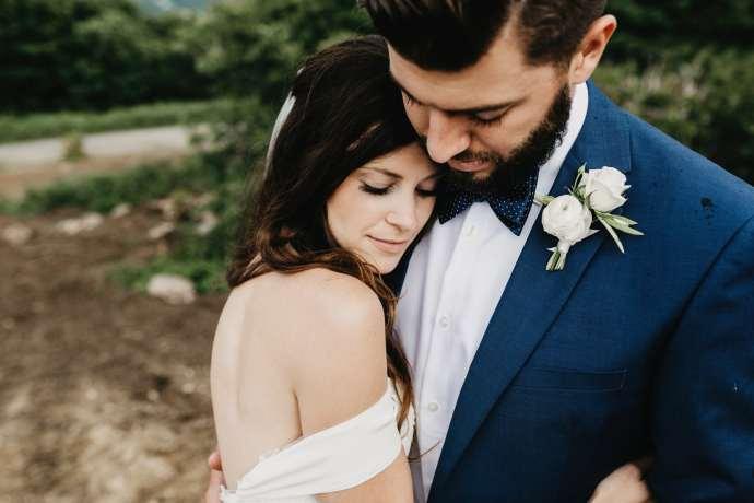 romantic wedding photographer North Carolina