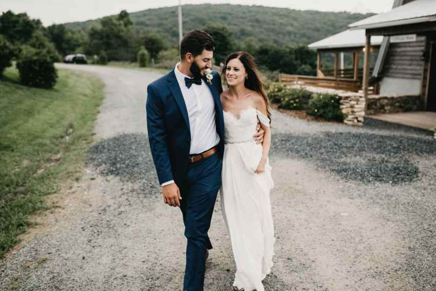 overlook barn beech mountain wedding