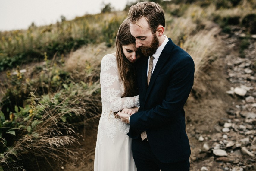 Brett & Jessica Photography | black balsam knob elopement