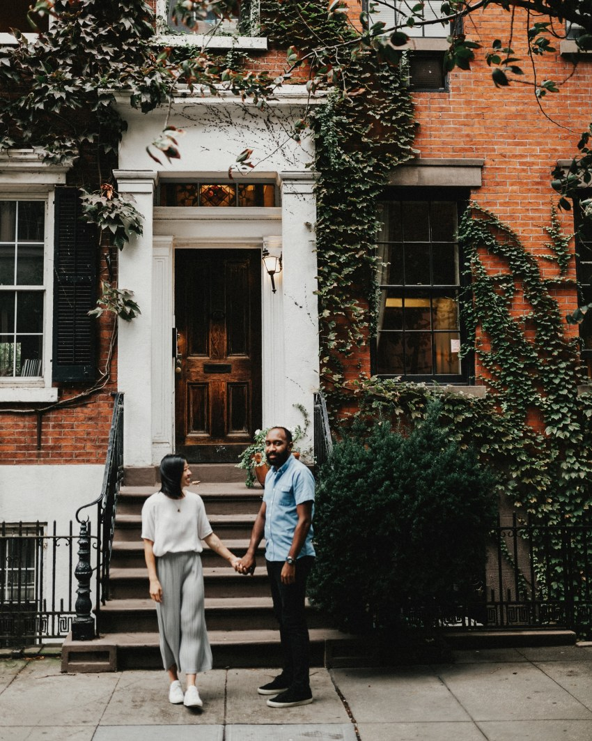 Brett & Jessica Photography | west village nyc engagement photo locations photos
