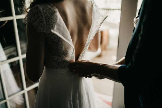 Moody Asheville Wedding Photographer