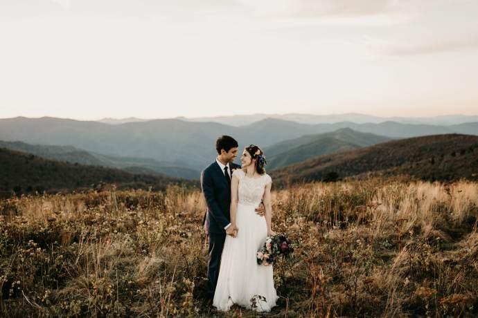 appalachian mountain elopement