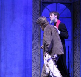 ....the Bishop de Digne take pity on Valjean and invites him home