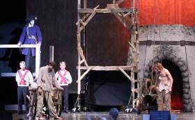 Impressive entrance of Javert