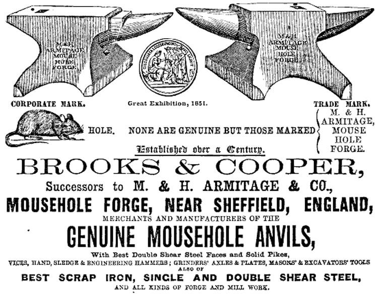 Genuine Mousehole Anvils - Brett Payne Silverware