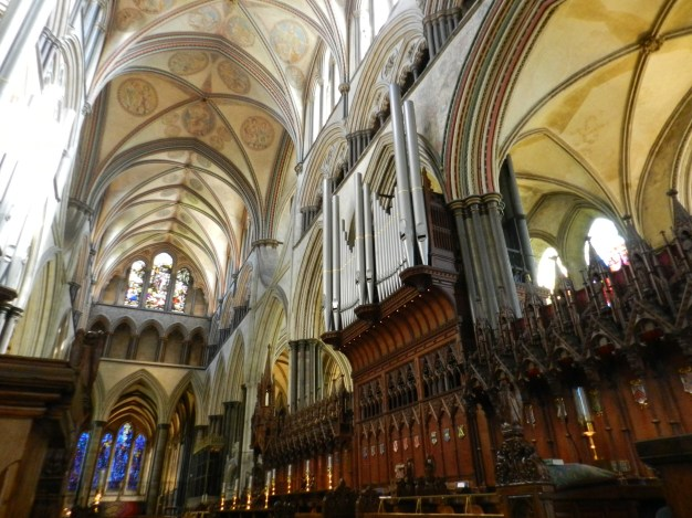 The Choir, Salisbury Cathedral