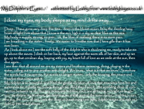 Lesley's Dream - 'My Dolphin's Eyes'