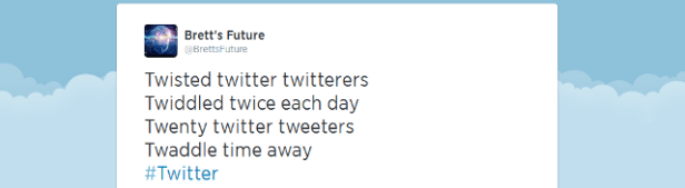 Twisted twitterers