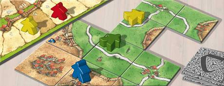 Carcassonne Spiel