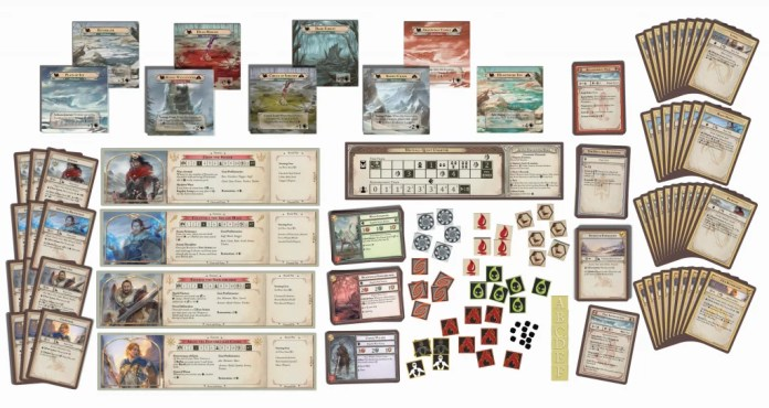 Draft components - game layout