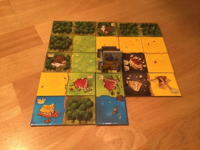 kingdomino mat