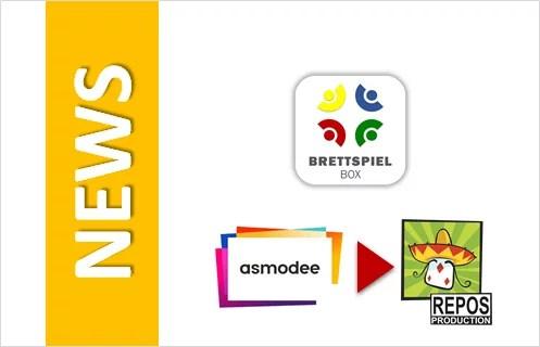 News: Asmodee erwirbt REPOS