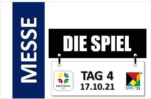 SPIEL 21 – Tag 4 der Messe – 17.10.2021