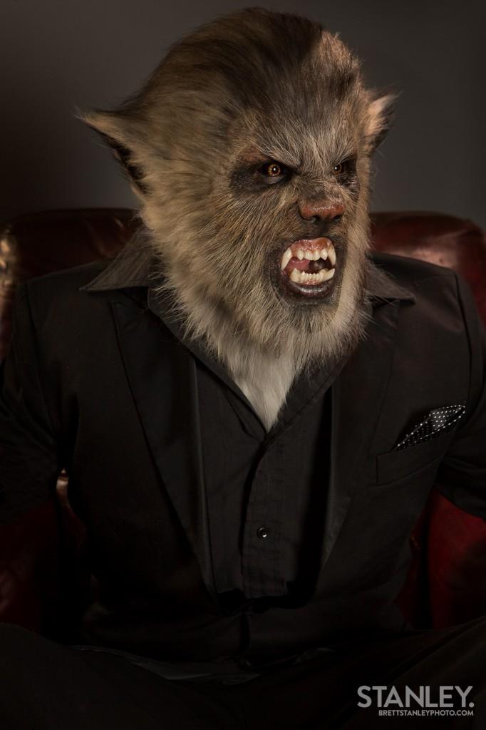 Wolfman Prosthetic  Makeup  Kerrin Jackson  Brett