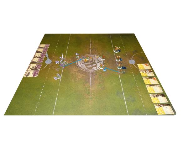 Guild Ball Runde 1 - Zug 2