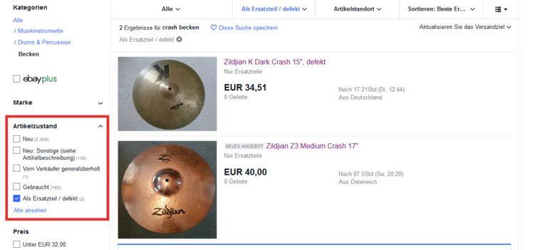 Comment trouver un article défectueux sur ebay