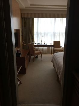 Our hotel room in 24th floor