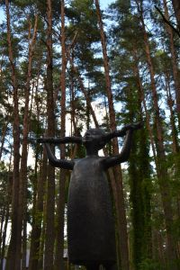 A sculpture in the park