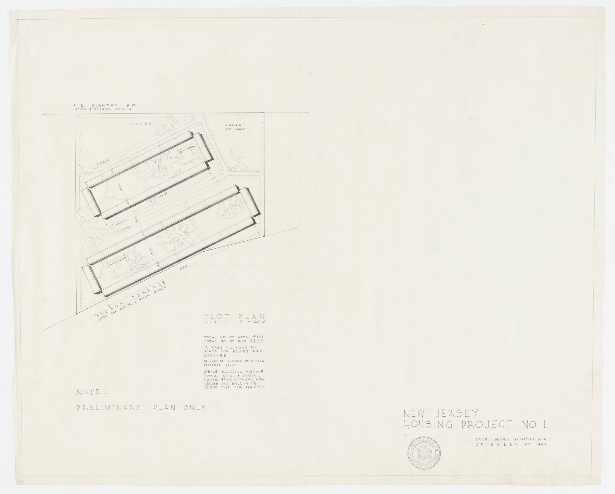 hight resolution of duplex apartment complex project type residential years 1945 1945