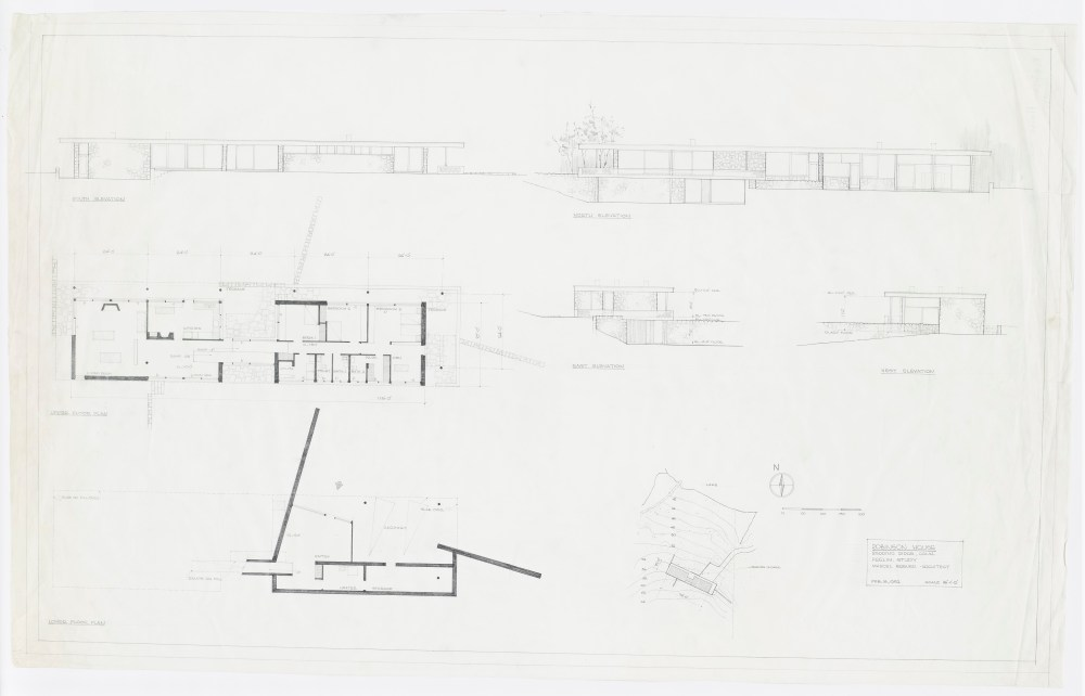 medium resolution of robinson george house project type residential years 1951 1951