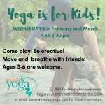 Yoga is for Kids!