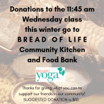 Donation Class: Bread of Life