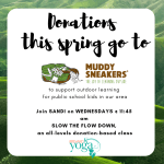 Donations to Muddy Sneakers!