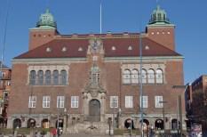 Das Rathaus von Borås