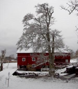 Mölarps Kvarn, eine denkmalgeschützte Mühle