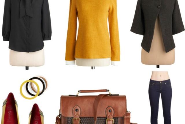 Modcloth Fall Fashion Layering Challenge | Brewedtogether.com