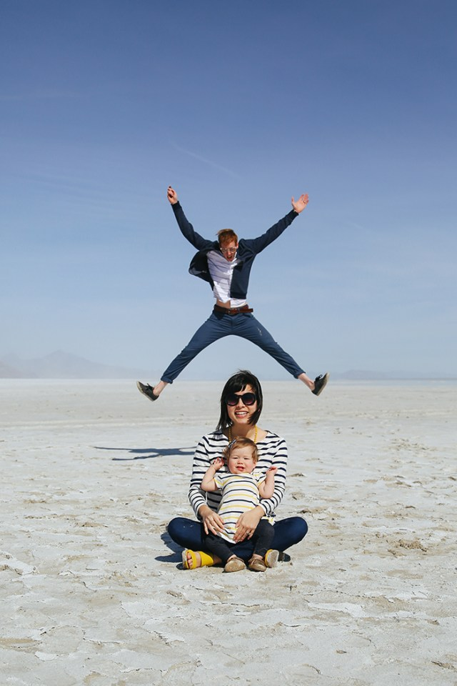 Adventures to Bonneville Salt Flats | brewedtogether.com