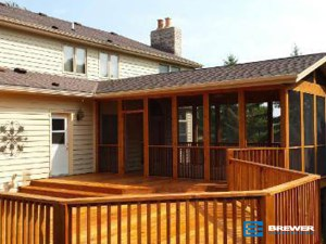 Deck construction, porch construction, Racine, Kensha, Milwaukee, Wi, Lake Bluff, Ill