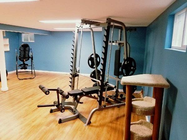 Basement Remodeling, Basements, Remodeling, Racine, Excersice room, work out room