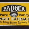 Badger pure barley malt extract at breweriana com