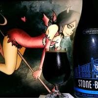Super Bashah (Black As Sin Hoppy As Hell) of the Stone Berlin Groundbreaking Collaboration Series #3 by Stone & Brew Dog