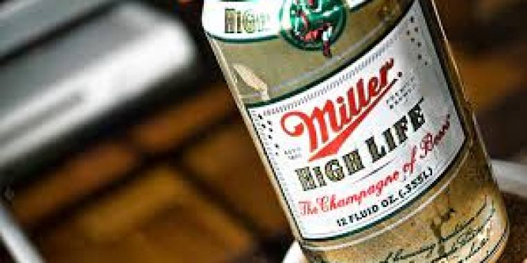 Can of Miller High Life