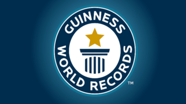 Logo the the Guinness book of World records