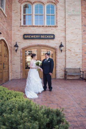 Tina Esch Photography-Wedding-downtown Brighton MI-Brewery Becker 3
