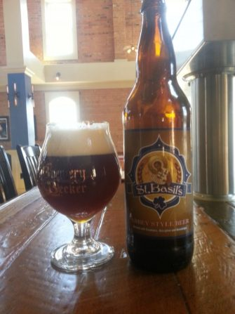 St Basils Bottled Craft Beer_limited release_CC fundraiser_Brewery Becker_IMG_20160423_154512