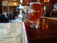 North Coaster Mighigan hopped IPA_Brewery Becker_bar close up