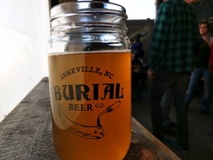 A farmhouse ale from Burial