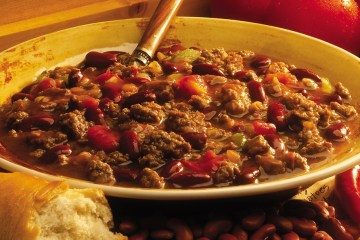 A bowl of world famous Whitey's chili.