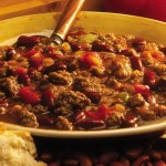 A bowl of world famous Whitey's chili.