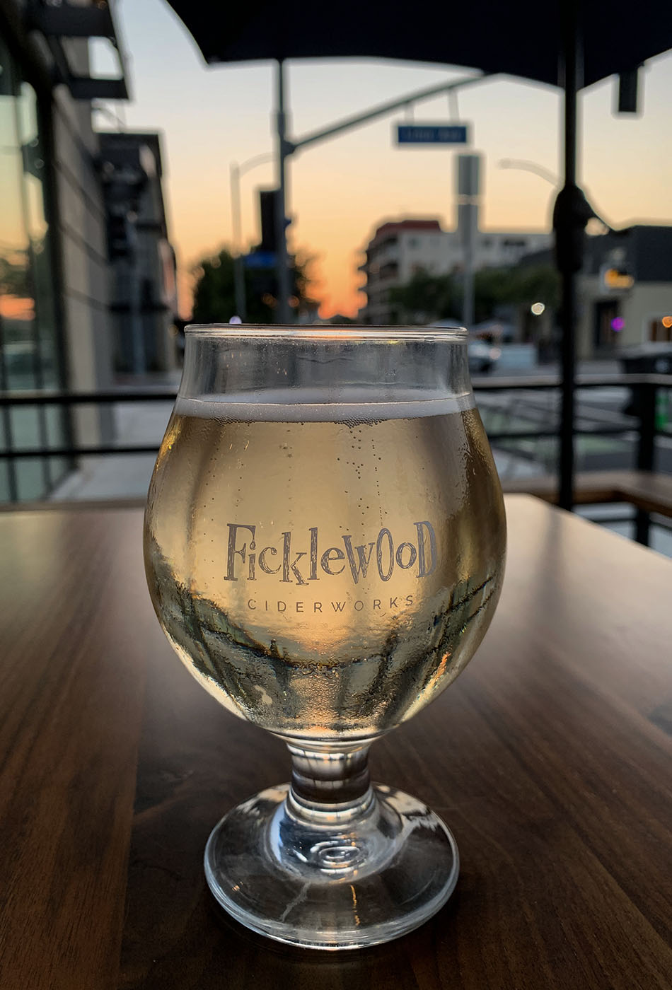 A clear cider from Ficklewood