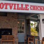 Hotville Chicken's front entrance in Los Angeles.